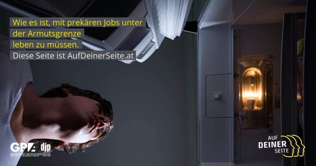 Wie es ist, mit prekären Jobs unter der Armutsgrenze leben zu müssen.